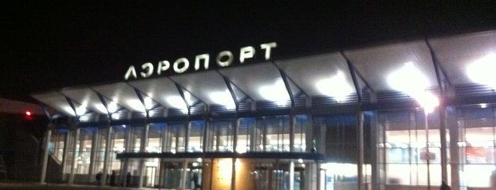 Bogashevo International Airport (TOF) is one of Posti che sono piaciuti a Olga.