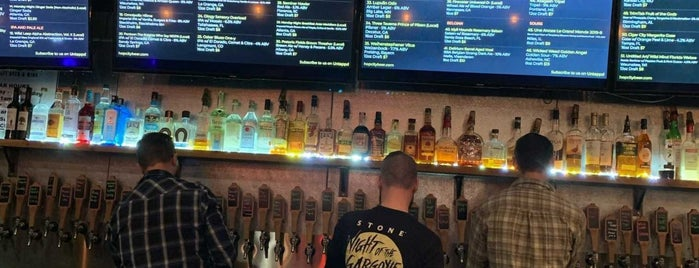 Hop City is one of ATL eats and drinks.