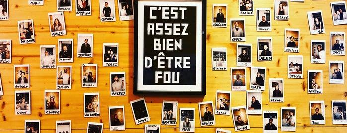Puzzle café is one of Lyon.