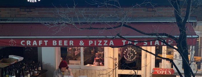 TAP STAND Craft Beer & Pizza is one of クラフトビールスポット.