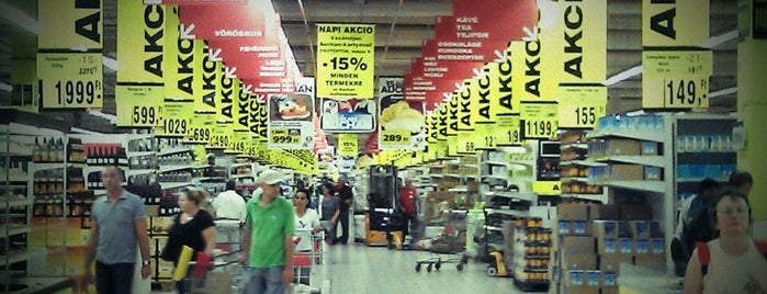 Auchan Budaörs is one of Tibor 님이 좋아한 장소.