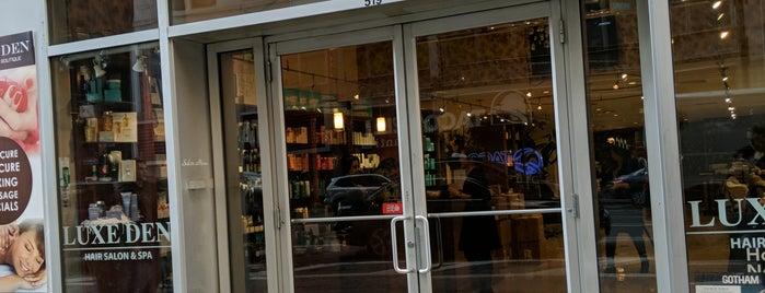 Luxe Den Salon & Spa is one of สถานที่ที่ Linnie ถูกใจ.
