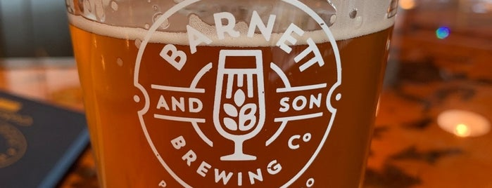 BARNETT & SON BREWING CO. is one of Booze and beer.