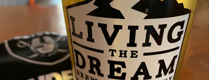 Living The Dream Brewing is one of Places to try in Denver.