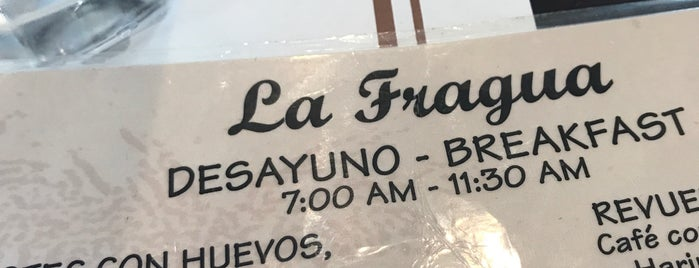 La Fragua Restaurant is one of Miami local eats.