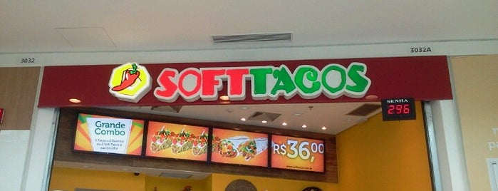 Soft Tacos is one of Locais curtidos por Renato.