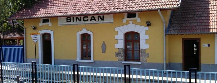 Sincan Garı is one of Orte, die Özgür gefallen.