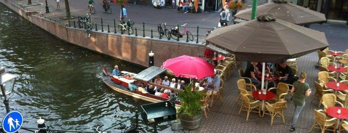 Visbrug is one of Leiden.