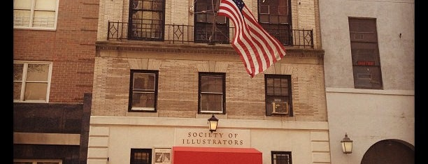 Society of Illustrators is one of New York.