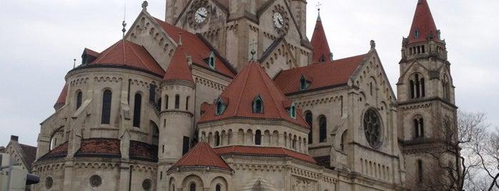 Franz-von-Assisi-Kirche/Jubiläumskirche is one of Vienna.