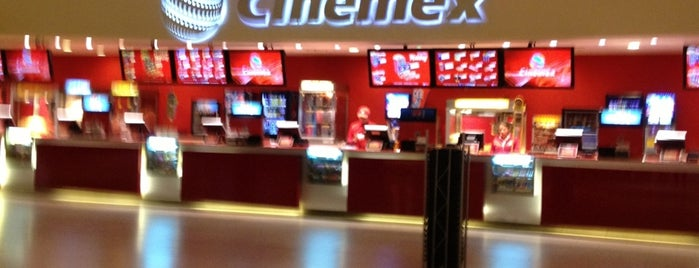 Cinemex is one of Alex'in Beğendiği Mekanlar.