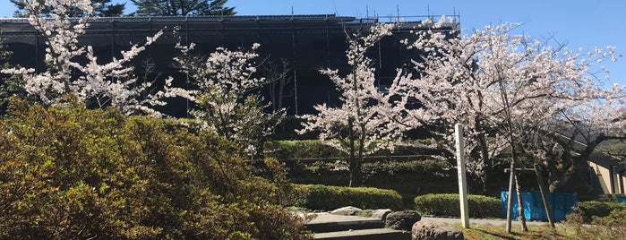 卯辰山工芸工房 is one of 金沢市文化施設共通観覧券で入れる.