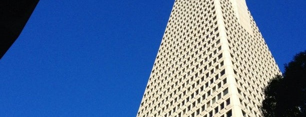 Transamerica Pyramid is one of San Francisco.