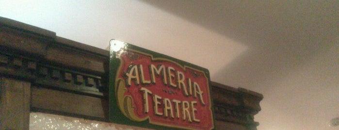 Almeria Teatre is one of I love go to the theatre.