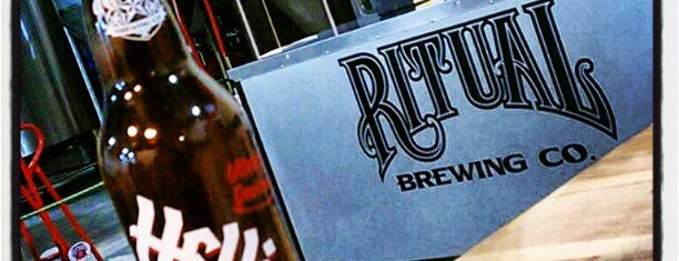 Ritual Brewing Co. is one of Local Breweries.
