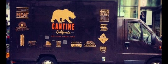 Cantine California is one of Gay paree.