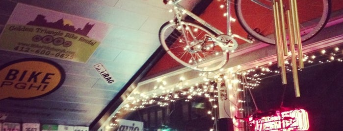 OTB Bicycle Cafe is one of Bars in Pittsburgh.