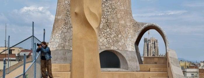 Azotea Casa Milà is one of ESPAÑA 🇪🇸.