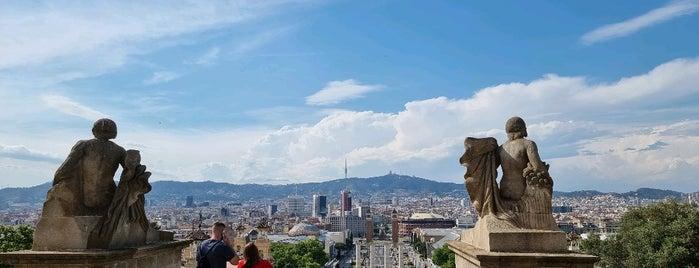 Mirador del Palau Nacional is one of Barcelona.