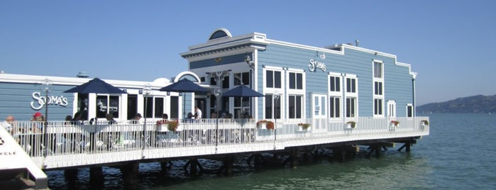 Scoma's Sausalito is one of Califórnia.