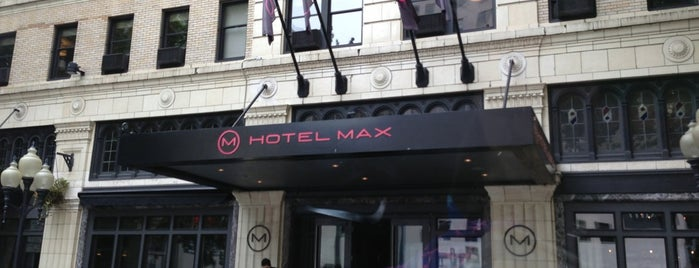 Hotel Max is one of seattle.