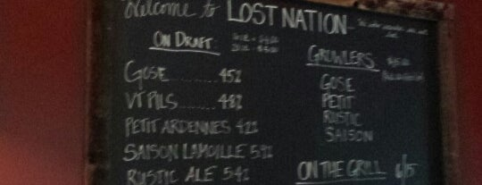 Lost Nation Brewing is one of New England Breweries.