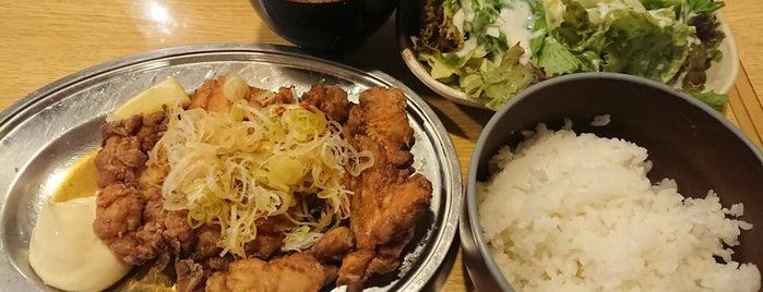 釜焼鳥本舗おやひなや 立川店 is one of 焼肉大好き.