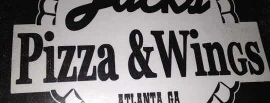 Jack's Pizza & Wings is one of ATL says HELLO.