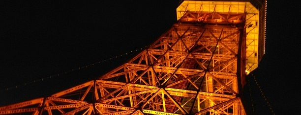 Tokyo Tower is one of Dive into Tokyo.