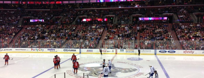 BB&T Center is one of NHL (National Hockey League) Arenas.