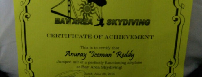 Bay Area Skydiving is one of CA Trip.