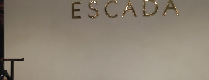 Escada is one of Best shopping in Barcelona.