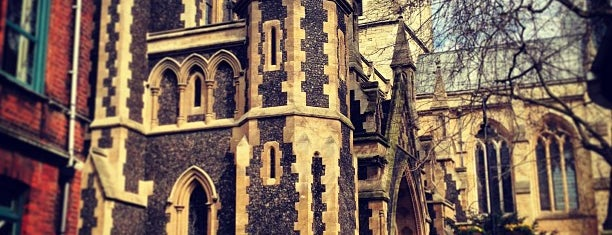 Southwark Cathedral is one of London Favorites.