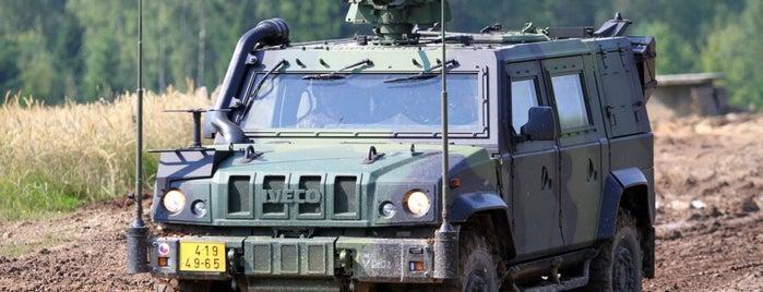 Bývalé vojenské cvičiště Bahna is one of VVP Brdy.
