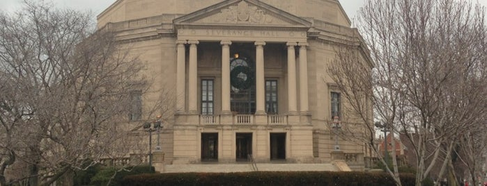 Severance Hall is one of Cleveland.