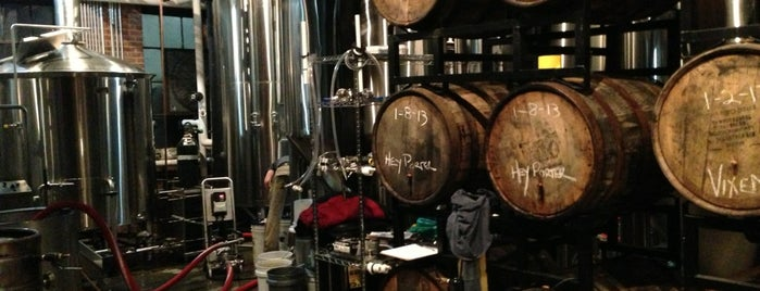 Wicked Weed Brewing is one of NC Craft Breweries.