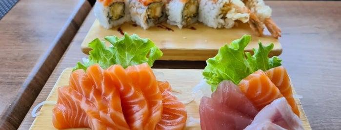 Liu Sushi bar & restaurant is one of Orte, die Janneke gefallen.