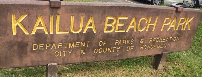 Kailua Beach Park is one of My Favorite Oahu.