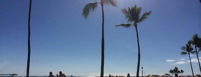 Duke Kahanamoku Beach is one of My Favorite Oahu.