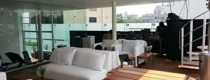 Terraza Hotel Habita is one of Df.