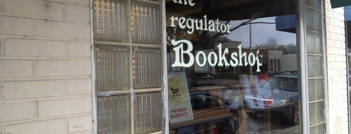 The Regulator Bookshop is one of Durham.