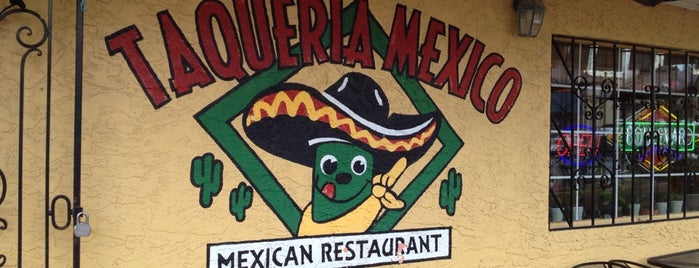 Taqueria Mexico is one of KC Restaurants.