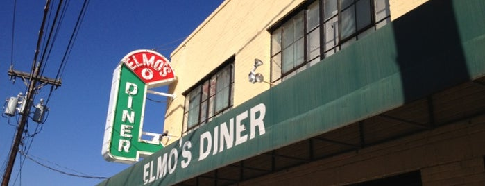 Elmo's Diner is one of RDU Baton - Durham Favorites.
