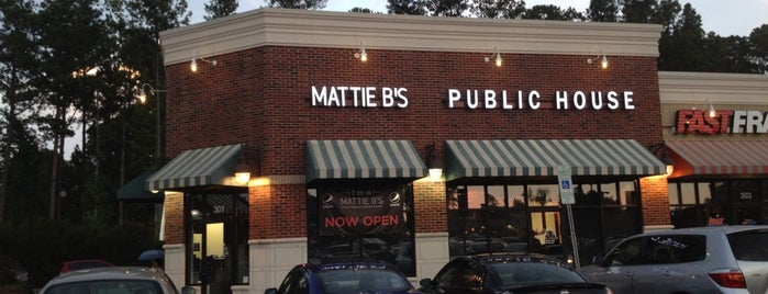 Mattie B's Public House is one of Triangle Checklist.
