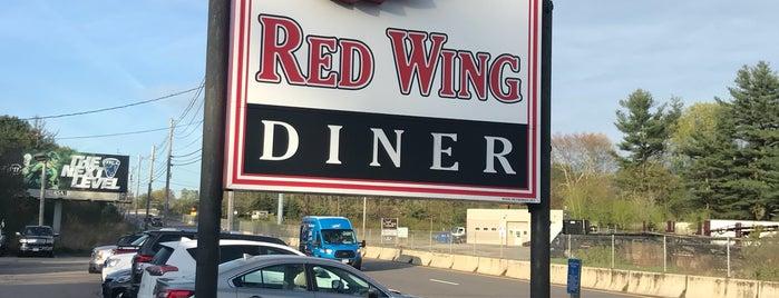 Red Wing Diner is one of The Seven Ten Split Bagde.