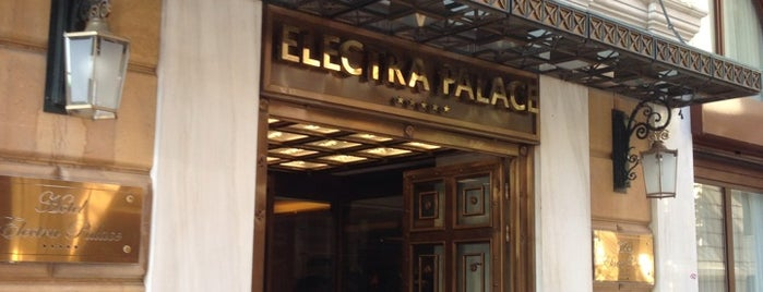 Electra Palace Athens is one of Orte, die Tasos gefallen.