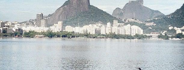 Lagoa Rodrigo de Freitas is one of Lazer.