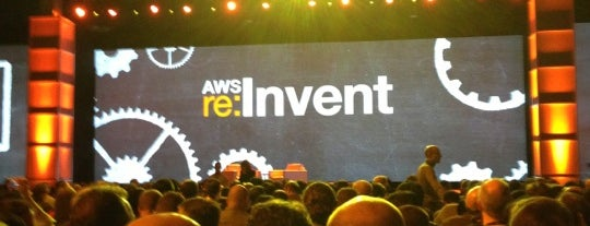 AWS re:Invent is one of Etkinlik.