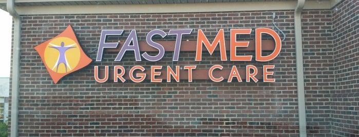 FastMed Urgent Care is one of Orte, die Justin gefallen.
