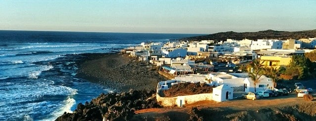 El Golfo is one of Lanzarote, Spain.